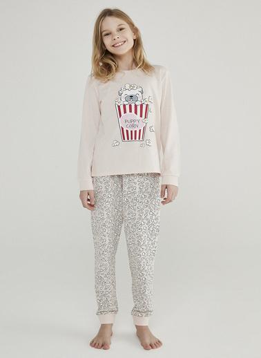 Penti Incı Teen Puppycorn 2Li Pijama Takımı Beyaz